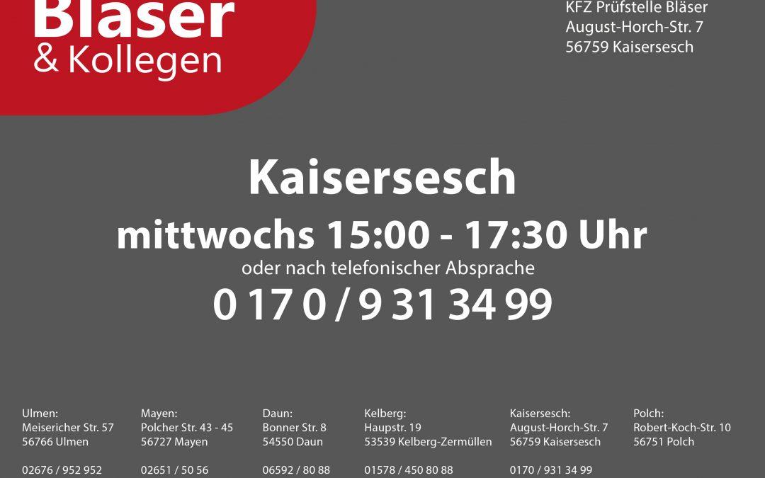 Neue Prüfstelle in Kaisersesch